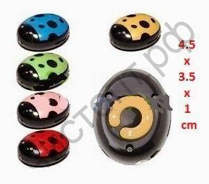 MP3 плеер LadyBug (в виде Божей коровки) micro-SD до 16Гб,акумм.,провод для заряд.,наушники,пласт.короб,