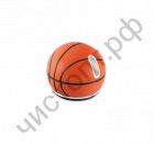 "Мышь сувенир. беспровод. PERFEO PF-323-WOP-B, ""SportBall Mouse"", ""Basketball"", USB. 1000 dpi. Кноп: 2 + кол прокру. Силик чехол (сним для чист)"