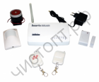 Сигнализация GSM Орбита HD-201 для дома, кварт., гаража, офиса 1 беспров.датчик движ.,1 открыт., отпр SMS на телеф. Сирена аккум + подключ доп датч