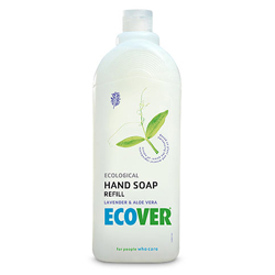 Ecover Жидкое мыло для мытья рук Лаванда, 1 л
