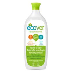 Ecover Экологическая жидкость для мытья посуды с лимоном и алоэ-вера, 1 л