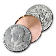 Shell Монета Half Dollar 3 см