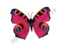 бабочка пластиковая 7см №17
