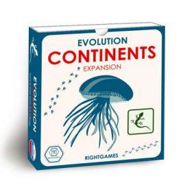 Evolution. Continents
