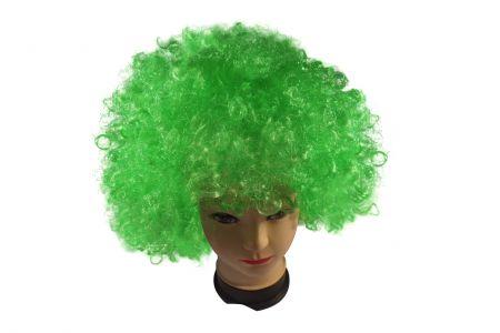 Парик клоунский зеленый