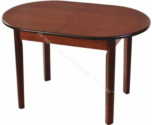 Стол раскладной для гостиной овальный Павлин