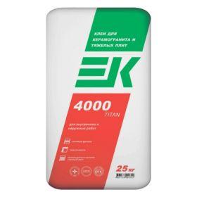 Клей универсалный ЕК 4000 titan ( 25кг )
