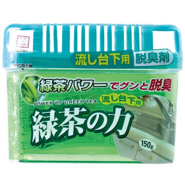 """Японский поглотитель запахов под раковиной """"Сила зеленого чая"""" Kokubo"""