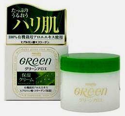 Увлажняющий крем для очень сухой кожи лица Green Plus  Meishoku
