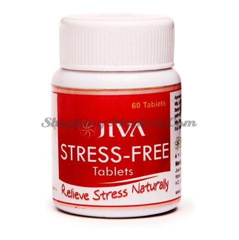 Антистрессовый препарат Стресс Фри Джива Аюрведа / Jiva Ayurveda Stress Free