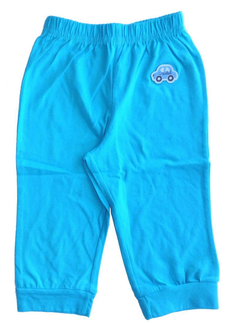 Бирюзовые штанишки Машинка