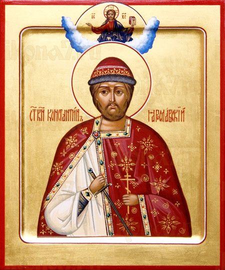 Икона Константин Ярославский (рукописная)