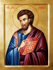 Икона Лука, апостол (рукописная)