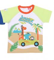Трикотажная детская футболка