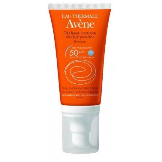 Avene spf50+ Very High Protection Emulsion - Солнцезащитная эмульсия