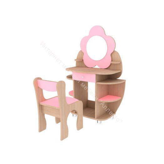 Набор «Ромашка» трюмо+стул