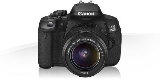 Canon EOS 650D kit 18-135 IS STM