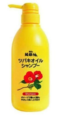 Шампунь  с маслом камелии Kurobara Camellia Oil
