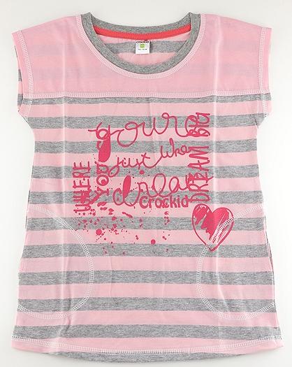 Блуза для девочки Крокид
