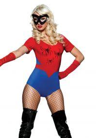 Женщина человек паук