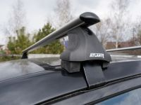 Багажник на крышу SsangYong Actyon / SsangYong New Actyon, Атлант, аэродинамические дуги