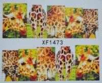 Водная наклейка для дизайна ногтей XF 1473