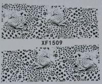 Водная наклейка для дизайна ногтей XF 1509