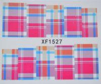 Водная наклейка для дизайна ногтей XF 1527
