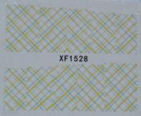 Водная наклейка для дизайна ногтей XF 1528