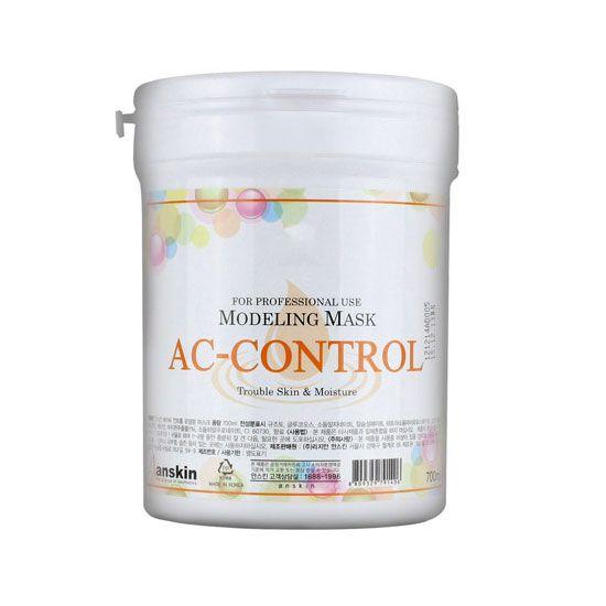 Корейская альгинатная маска против акне для проблемной кожи AC Control Modeling Mask Anskin