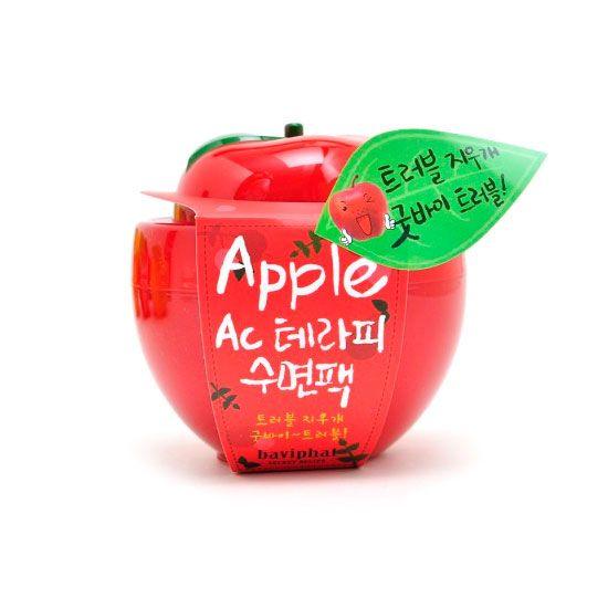 Корейская маска ночная для проблемной кожи яблоко AC Therapy Sleeping Pack Baviphat