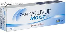 1-DAY ACUVUE MOIST- 30 шт