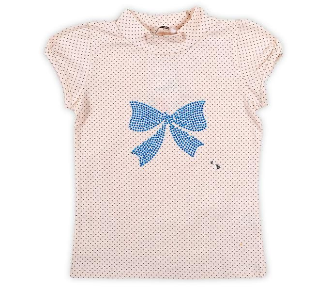 Блуза для девочки Бантик