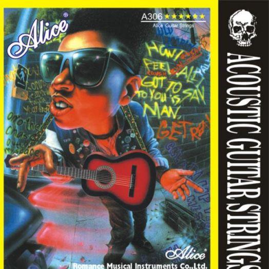 ALICE А306-SL (011-052) Струны для акустической гитары