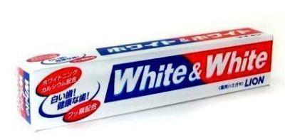 Японская отбеливающая зубная паста Lion White&White