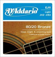 D`ADDARIO EJ11 (012-053) Струны для акустической гитары