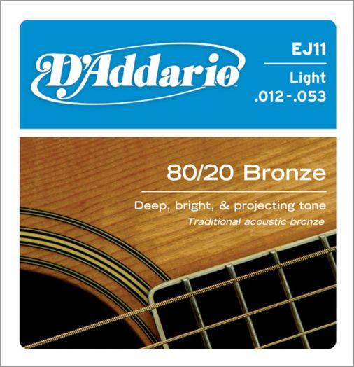 D`ADDARIO EJ-11 (012-053) Струны для акустической гитары