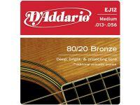 D`ADDARIO EJ12 (013-056) Струны для акустической гитары
