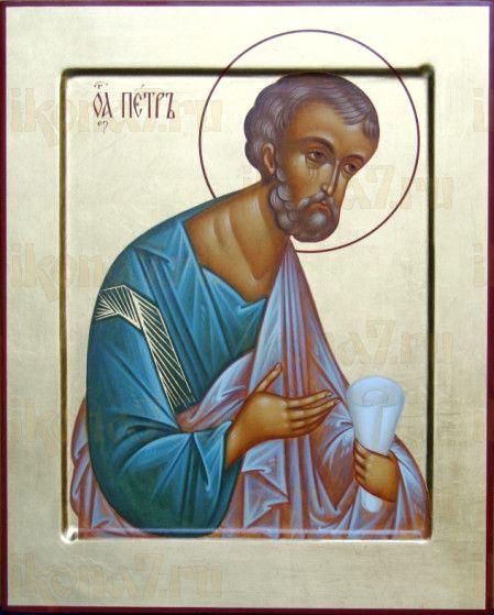 Икона Петр, апостол (рукописная)