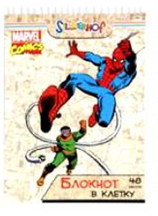 Блокнот 48л., А5, Человек-паук