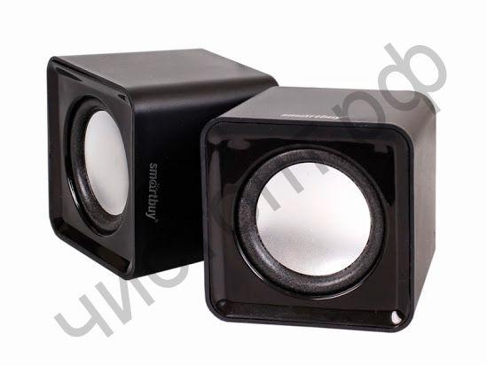 Актив.колонки 2.0 SmartBuy® MINI, мощность 4Вт, USB, черные (SBA-2800)