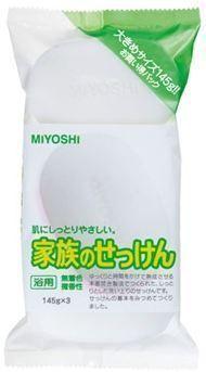 101490 Туалетное мыло на основе натуральных компонентов, 145g*3