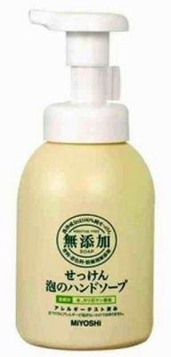 100677 Пенящееся жидкое мыло для рук на основе натуральных компонентов, 250ml
