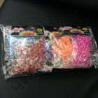 Набор резинок Rainbow Loom Bands в пакетах 200 шт. резинок ,крючок, клипсы