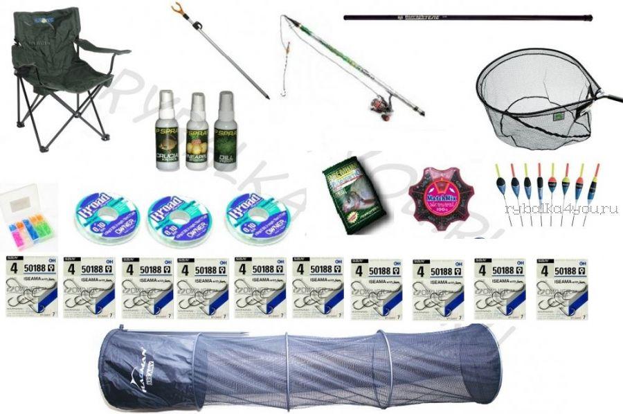 """Поплавочный рыболовный комплект """"Carbon Premium 600"""""""