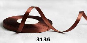 Атласная лента, ширина 6 мм, 32,5 метра (+-0,4м), Арт. АЛ3136-6