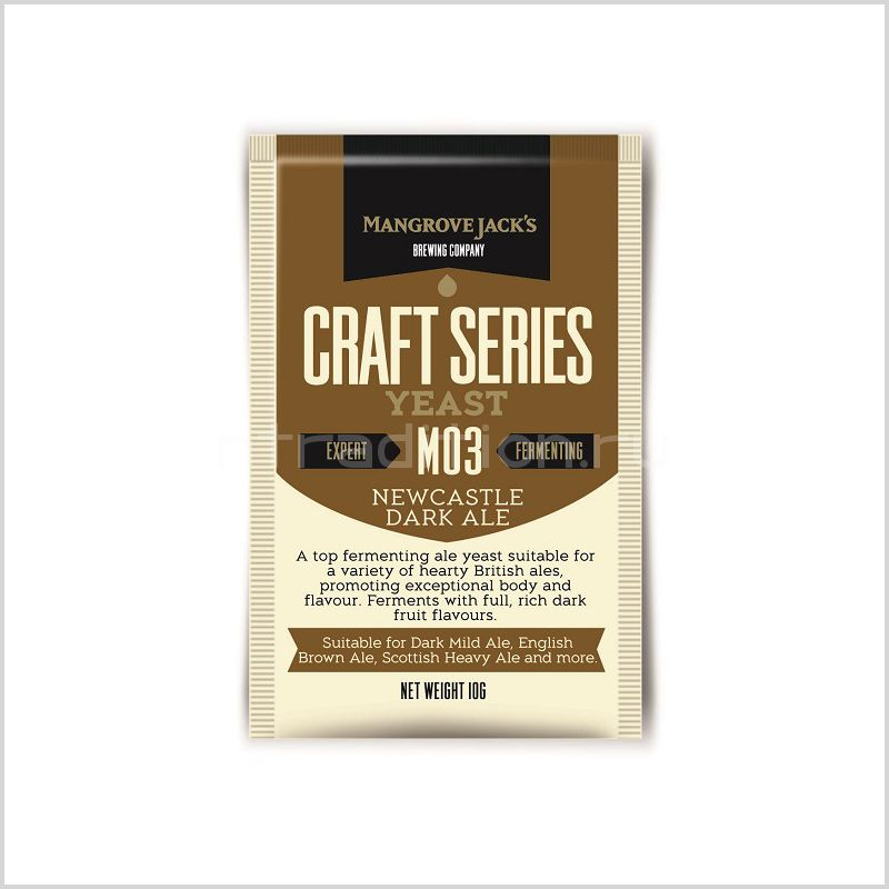 Mangrove Jack's Craft Series Yeast - Newcastle Dark Ale M03