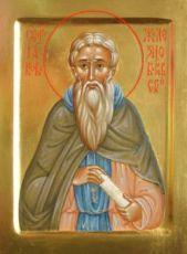 Иаков Железноборовский (рукописная икона)