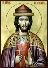 Иаков Персянин (рукописная икона)