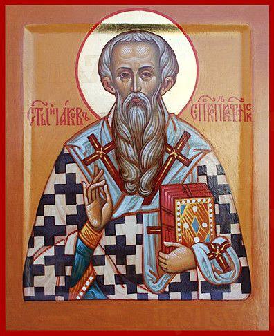 Иаков Катанский (рукописная икона)